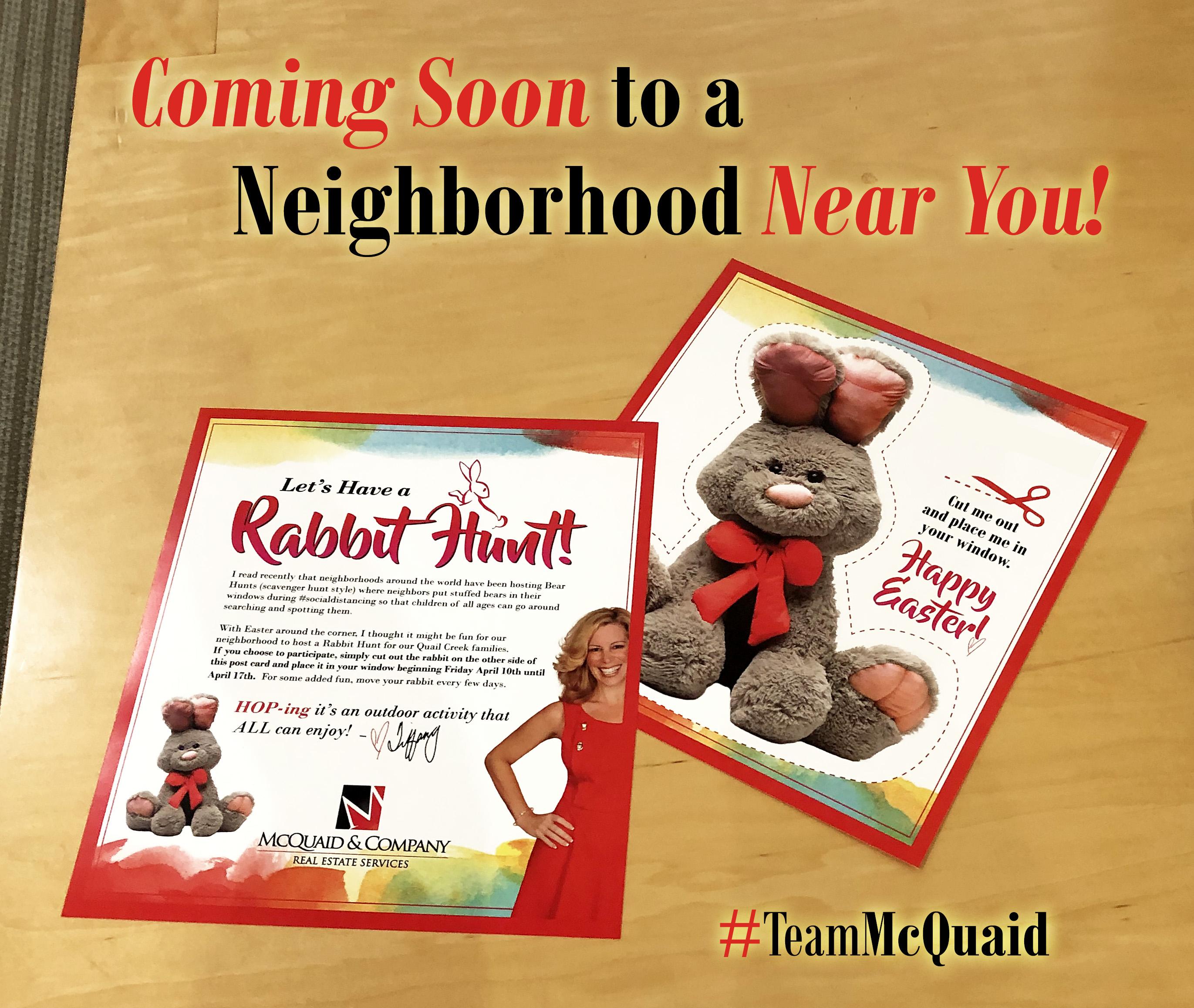 Coming Soon to a Neighborhood Near You!